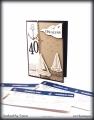 """Einladungskarte 40. Geburtstag """"Setz die Segel"""""""